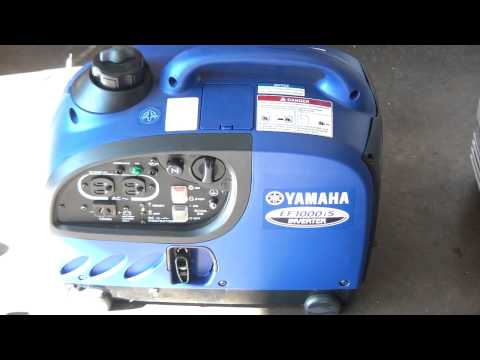 Yamaha EF1000is generator review operations