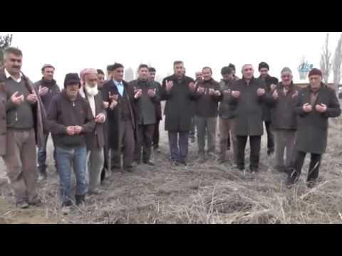 Köylüler Kar Duasına Çıktı
