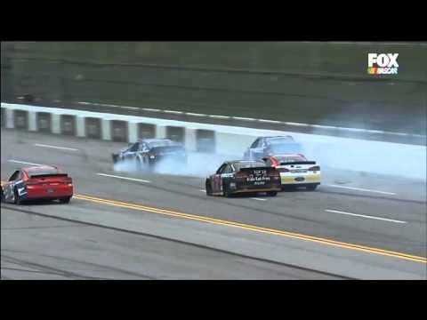 Nascar Sprint Cup Series 2016. Talladega Superspeedway. Dale Earnhardt Jr Crash