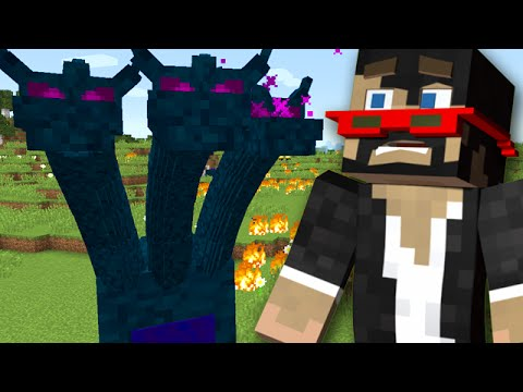Minecraft: New Incredible Hydra Boss Battle video