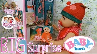 Baby Born Doll Videos| Opening Baby Born Advent Calendar Day 14 Surprise With Elly🎄Sweet Pink🎁