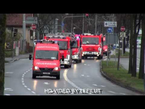 Löschzug + KEF-T BF Stuttgart FW 1 Süd