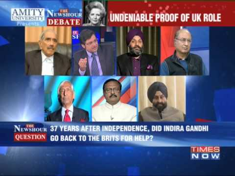 The Newshour Debate: Brits guided Operation Blue Star - Part 3 (15th Jan 2014)