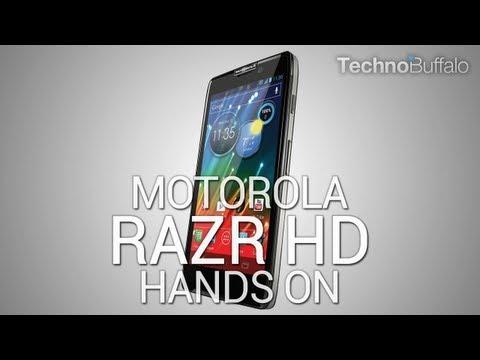 Lanzamiento Motorola RAZR HD (4G LTE. 4.7