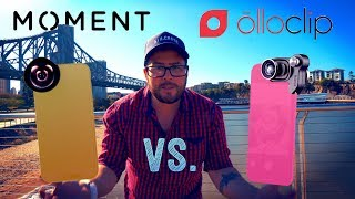 Moment lens vs Ollo Clip... Which is a better???
