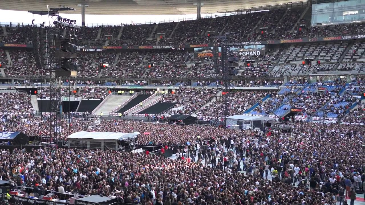 Martin solveig chauffe le stade de france youtube - Location loge stade de france ...