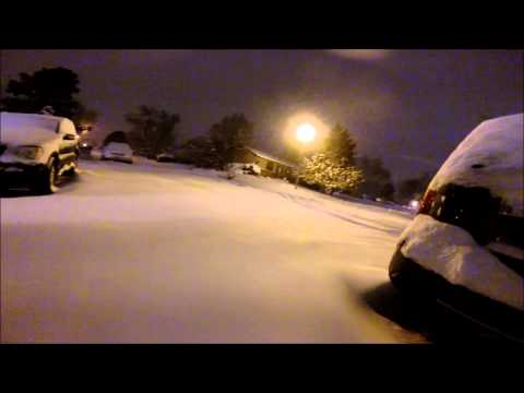 Deep Snow Go Pro Westminster Colorado February 21 2015
