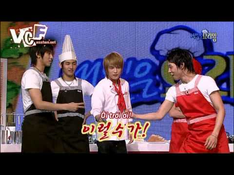 [Vietsub] All About DBSK Season II - Cooking show Part 2/3