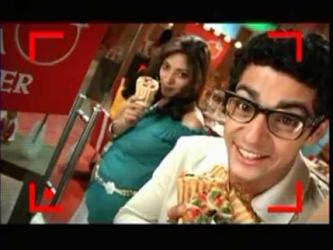 Pizza Corner funny commercial - Pizza in Cone