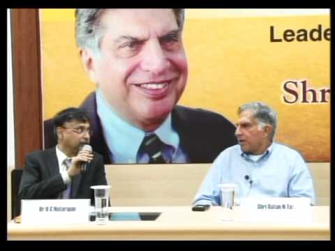 Leadership Lecture Series Interaction With Mr Ratan N. Tata Part # 4/4