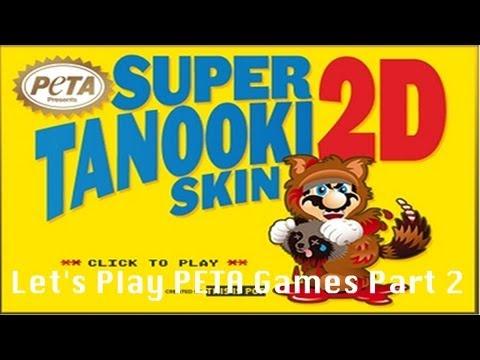 Let's Play Super Tanooki Skin 2D   Peta Games Part 2