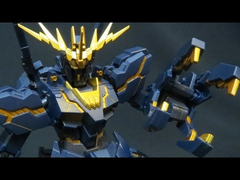 Robot Damashii Banshee: Gundam UC Unicorn 02 Marida Cruz RD toy review ガンダム