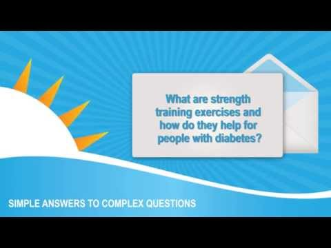 Diabetes and Exercise: What are strength training exercises? How do they help diabetics?