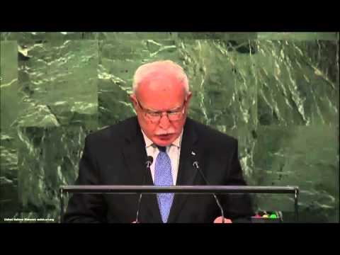 UN Speeches:   Prime Minister of Palestine Rami Hamdallah,