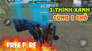 [Garena Free Fire] 3 Hòm Thính Xanh Rơi Cùng 1 Chỗ | Sỹ Kẹo