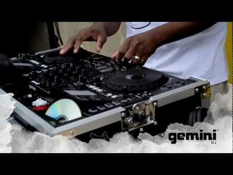 Gemini DJ Psycho D interview and performance on the CDMP-7000