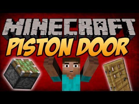 #Minecraft 1.8: Best Piston Door [TUTORIAL]