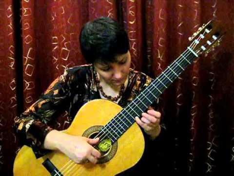 видео урок романс гомеса на гитаре