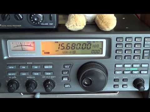 China Radio International shortwave Websdr Netherlands  VS My icom in Montreal Canada
