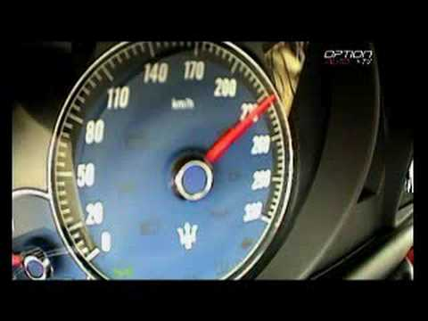 240 km/h en Maserati Gran Turismo (Option Auto)