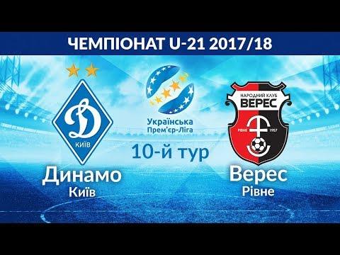 U-21. ДИНАМО Київ - ВЕРЕС Рівне 9:0. УВЕСЬ МАТЧ