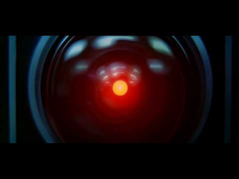 Hal 9000 VS Dave - Ontological scene in 2001: A Space Odyssey
