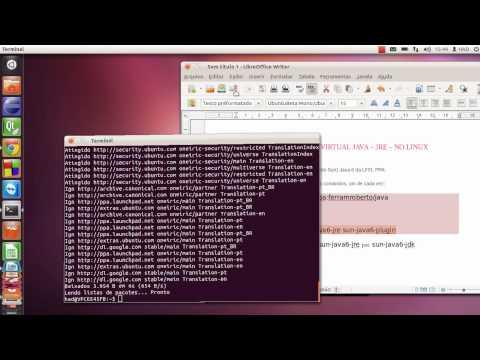 Série Ubuntu: Instalar Oracle JAVA JDK JRE  no Ubuntu 11.10