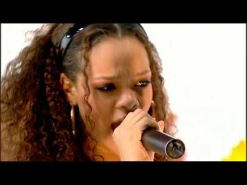 Rihanna - S.o.s. (live)  The Richard And Judy Show Hq video
