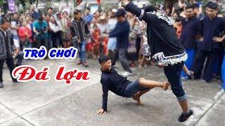 Trò chơi đá lợn vui nhộn trong ngày hội văn hóa dân tộc Lô Lô Huyện Mèo Vạc 2019 - Dũng Nguyễn TV