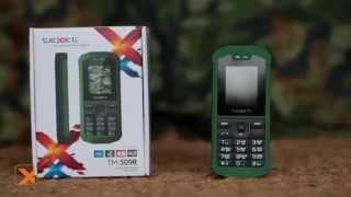 Обзор армейского мобильного телефона teXet TM-509R