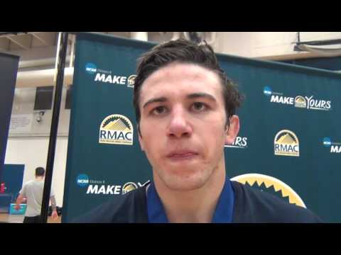Nolan Kistler (Cal Baptist), 2016 RMAC 165 champion