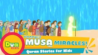 The Story of Prophet Musa (AS) In English Ep 19 | Islamic Kids Videos | Kids Stories #Cartoon 4K