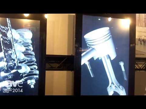 ISE 2014: Basys Showcases PURE Digital Signage Totem/Kiosk
