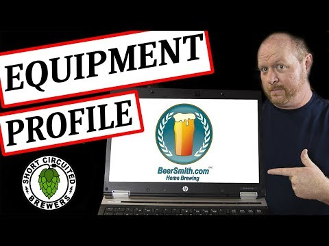 Beersmith 2 Tutorial - Equipment profile. how to measure your equipment for Beersmith 2