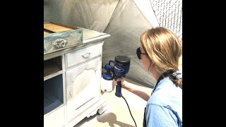 Furniture Spray Painting Class Video