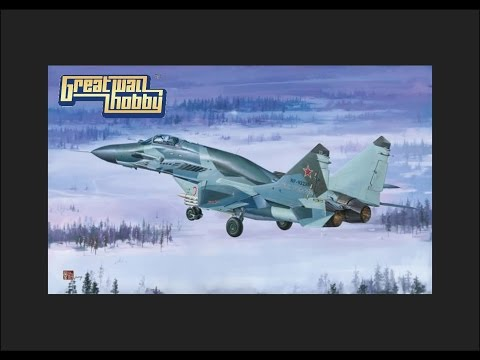 "Great Wall Hobby 1/48 MiG-29 SMT ""Fulcrum"" 9-19 Scale Model Review"