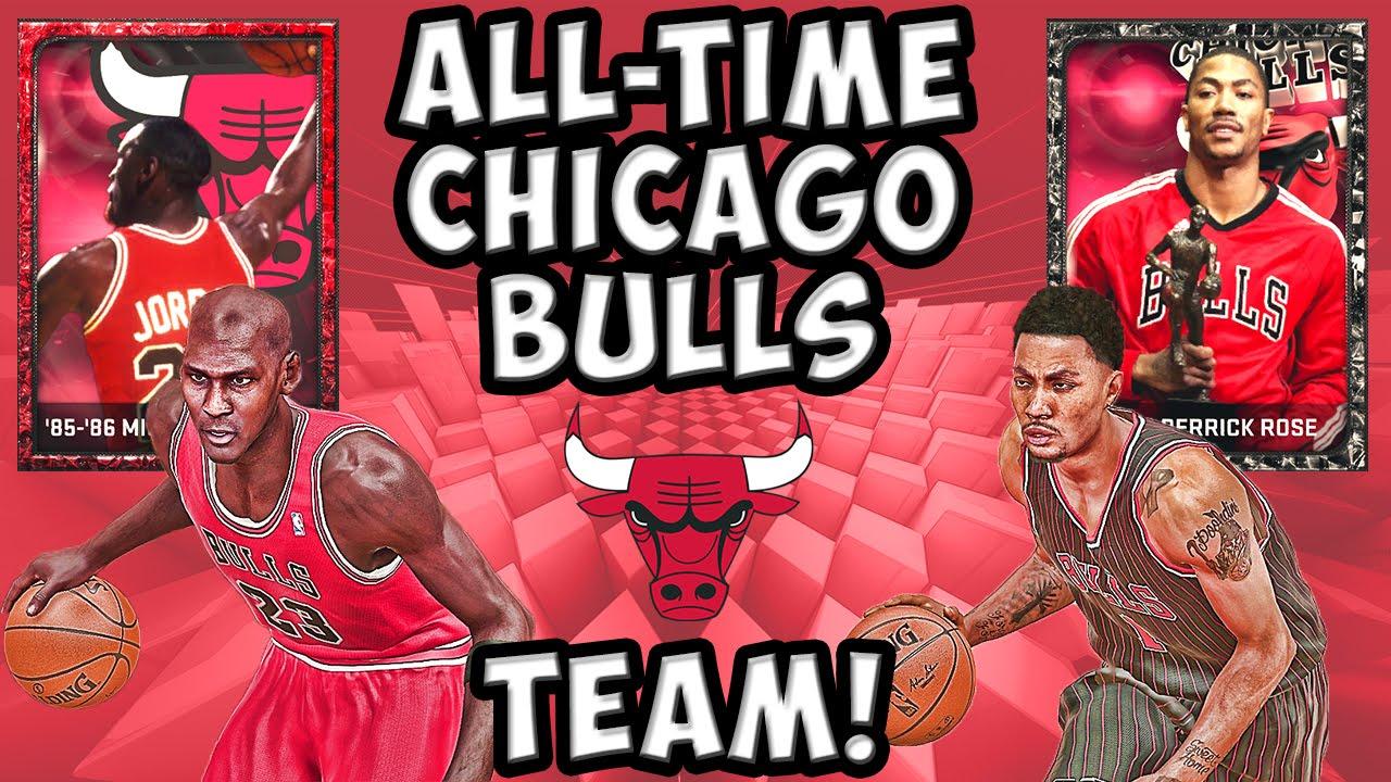 Jordan Bulls Team All-time Chicago Bulls Team