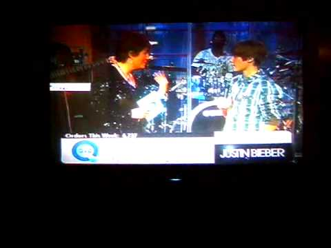 A little chatty chat on qvc with justin bieber