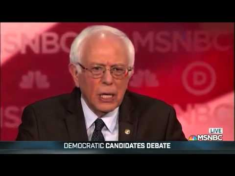Bernie Sanders: Kid gets caught with marijuana, that kid has a police record. A wallstreet executive destroys the economy, 5 billion dollar settlement with the government, no criminal record. That is what power is about, that is what corruption is abo...