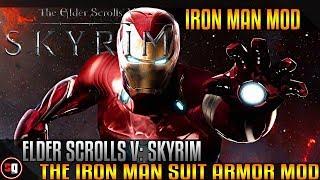 The Elder Scrolls V: Skyrim - Iron Man Suit Mod