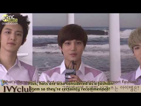[EXOTICSUBS] 130326 Ivy Club BTS & Interview - EXO-K {ENG SUB}