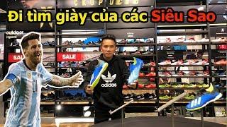 Thử Thách Bóng Đá đi tìm giày của Messi , Bùi Tiến Dũng U23 Việt Nam mùa World Cup 2018