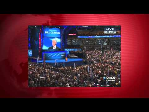Bill Clinton Convention Speech - Analysis