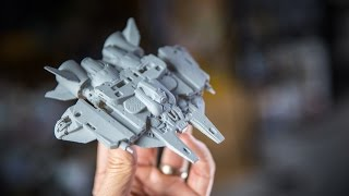 Modelmaking Toys with Virtual Reality Sculpting