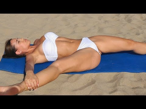 Sexy Bikini Yoga   Intense Flexibility! thumbnail