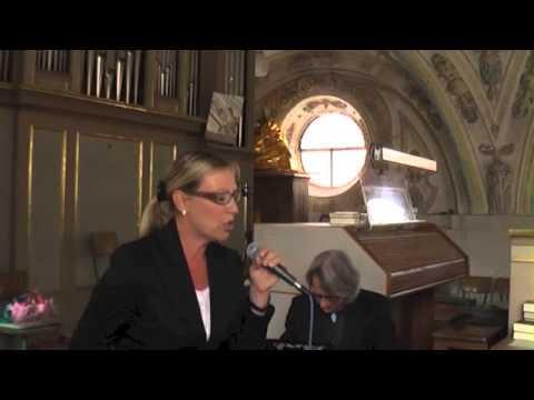 Beispiel: Sängerin Sabine Schulz,Amacing Grace, Video: Sabine Schulz.