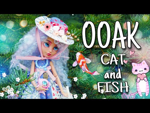 Food or friend? Ooak Doll Ever After High repaint custom