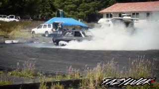 1974 Mazda Rx2 s2 Burnout | Tom Martin
