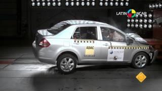Crash Test com Nissan Tiida Sedan