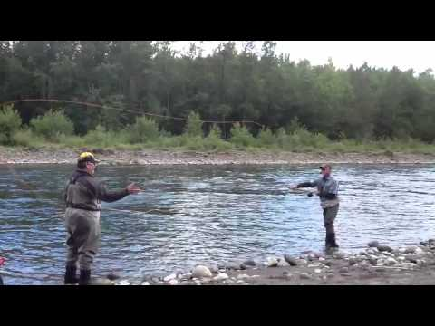Steve Rajeff at The Sandy River Spey Clave 2013 (PART 1)